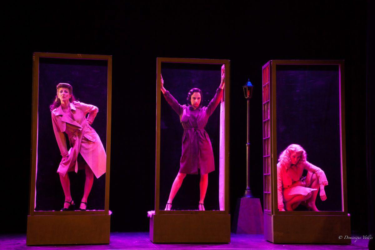 BELLES DE NUIT au théâtre Trévise