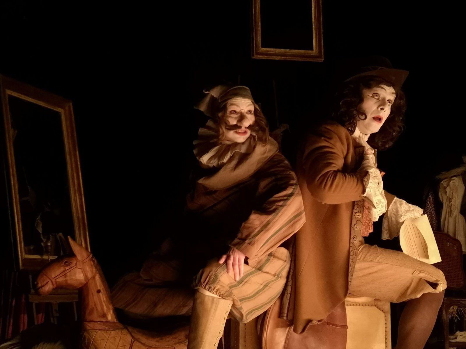 SGANARELLE OU LE COCU IMAGINAIRE au théâtre Montansier