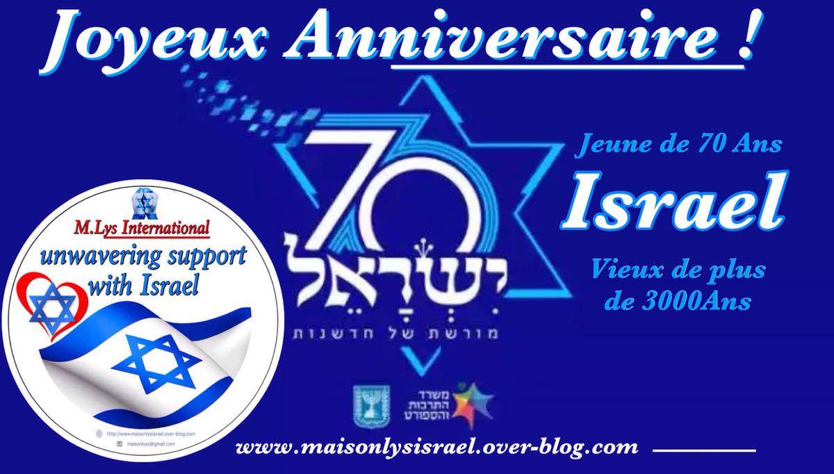 Allocution de Benjamin Netanyahou 70 ans ISRAEL