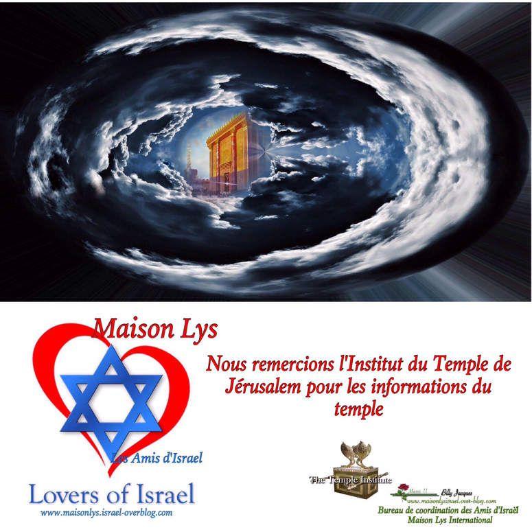 Nos remerciements à l'institut du temple de Jérusalem