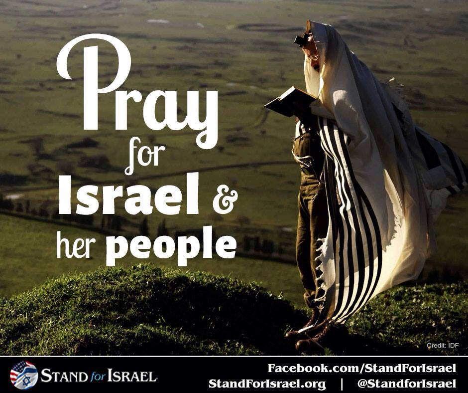 Prions pour la paix d'Israël