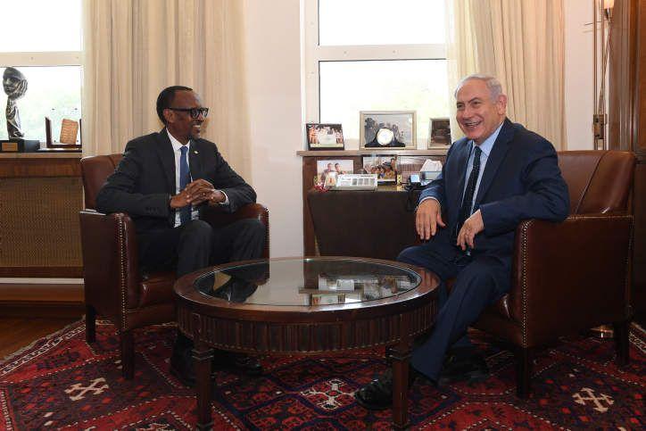 INAUGURATION DE L'AMBASSADE D'ISRAEL AU RWANDA