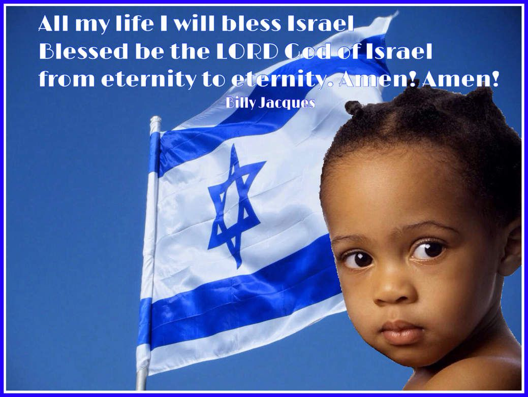 all my life I will bless Israel Blessed be the LORD God of Israel from eternity to eternity. Amen! Amen!