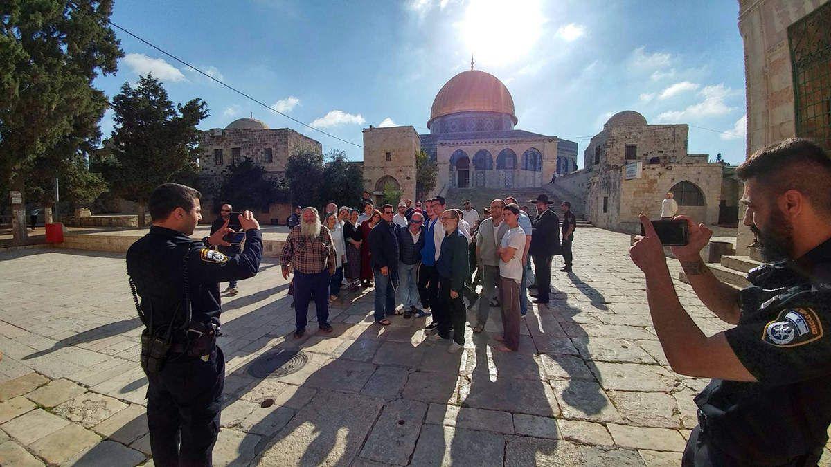 Visite sur LE mont du temple de Jerusalem