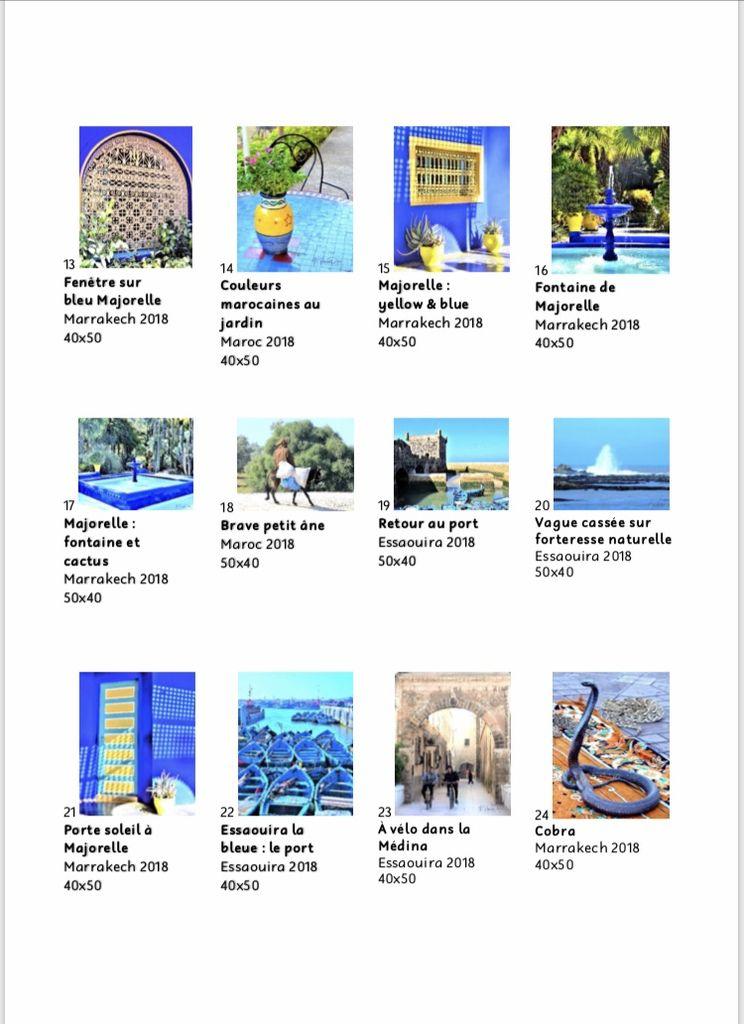 """Catalogue de l'exposition """"Soleil du Maroc"""""""
