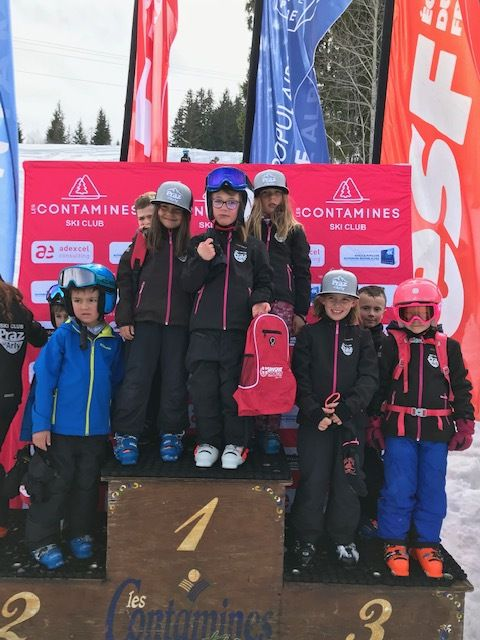 Fun cup finale U8 Contamines