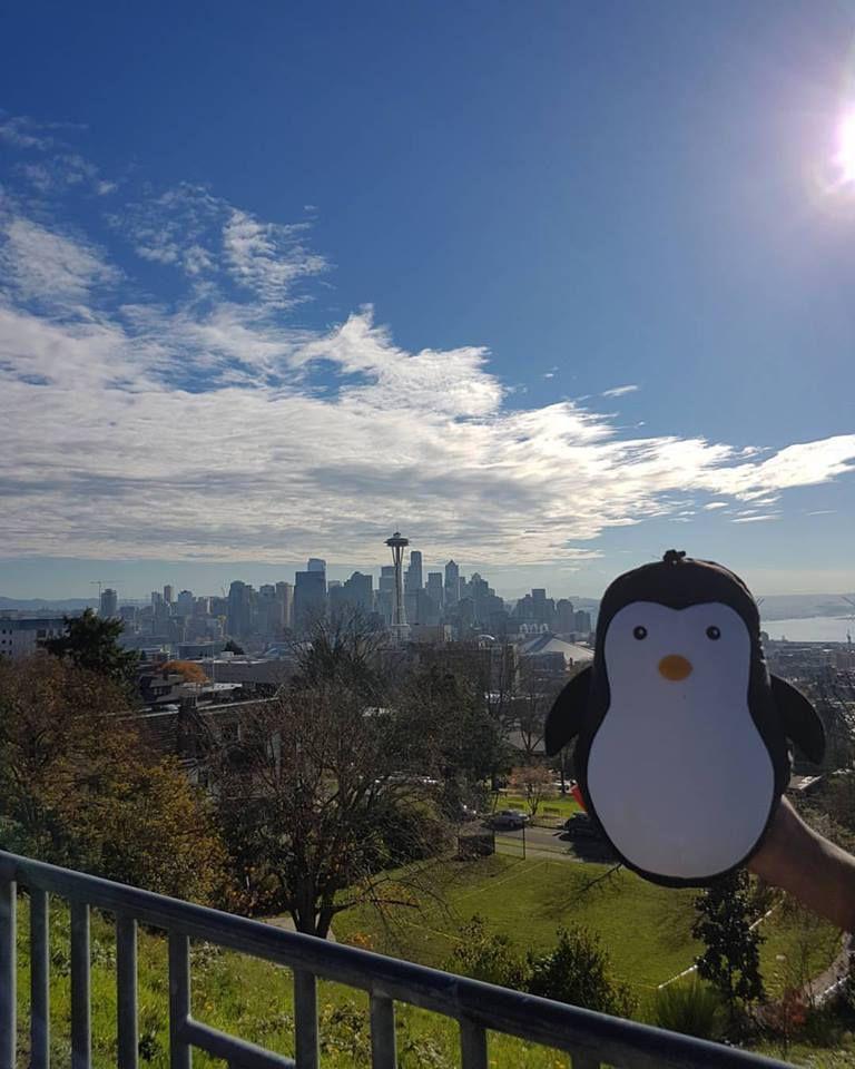 Le Pingouin à Seattle !!