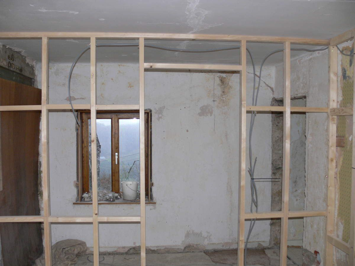 Osb Dans Salle De Bain salle de bain - renovation maison pierre 1900
