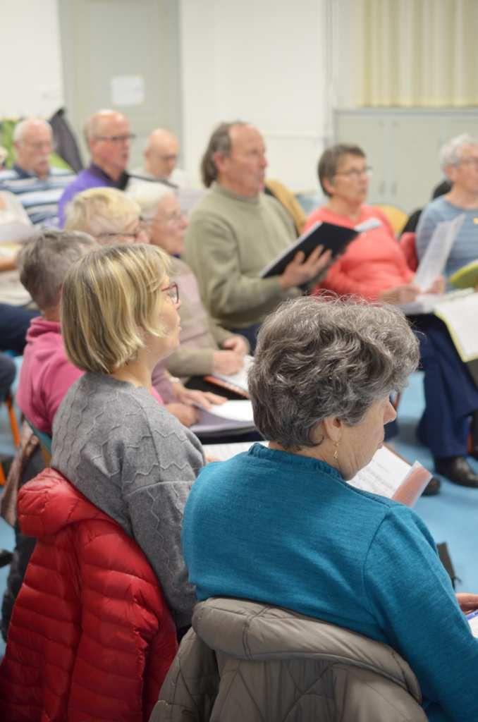 Chorale : Répétition du concert de bonne année