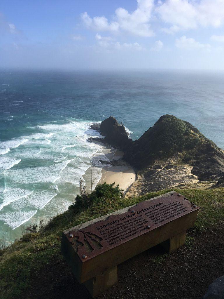 NOUVELLE ZELANDE : pointe extrême NORD au CAP REINGA, lieu le plus sacré des Maori