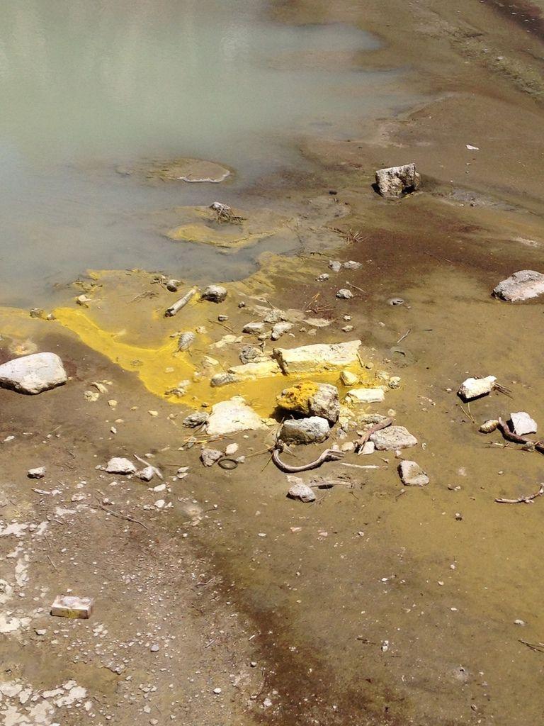 La région volcanique en activité, lacs (plus il est vert, plus il y a d'arsenic), lacs de silice, fumerolles, vapeur de soufre, etc ...