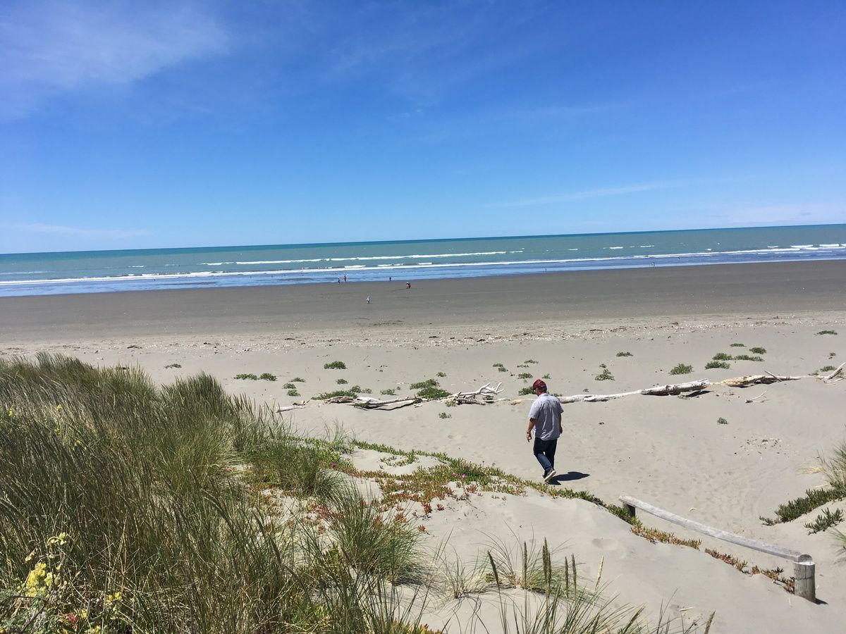 "Christchurch, ""garden city"", Antartica Center et les plages immenses de Sunmer et New Brighton"
