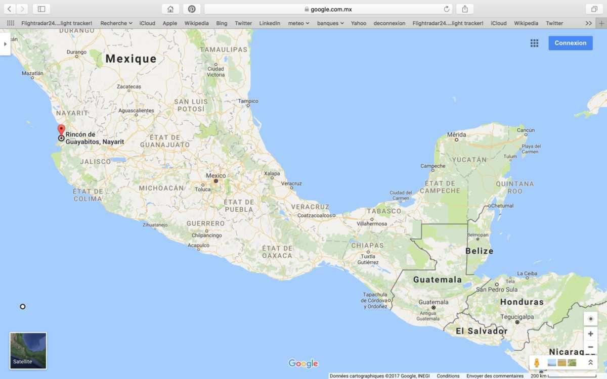 LES MEXICAINS ET LA PLAGE POPULAIRE