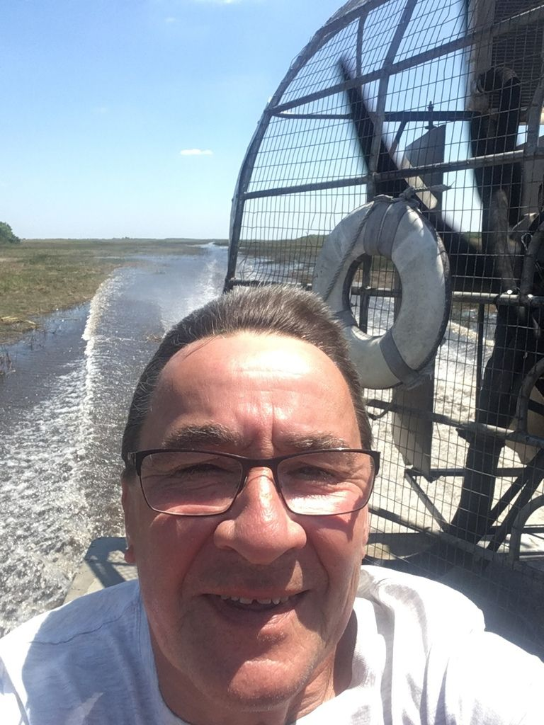AIRBOAT AUX EVERGLADES