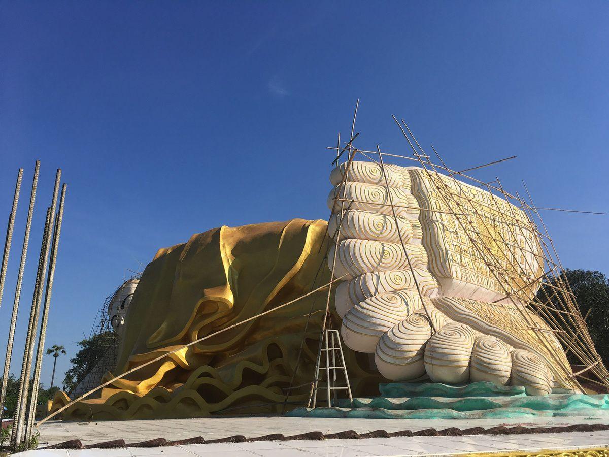 Myanmar : BAGO, bouddha couché
