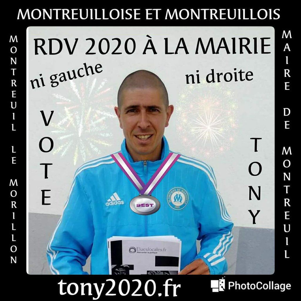 Tony le syncrétique. On attend avec impatience de connaître la composition de la liste Tony 2020