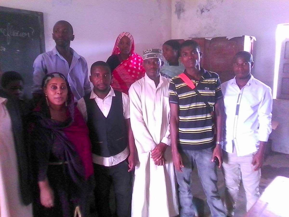 Opération test d'autonomisation des femmes par l'ONG USHABABI WA MESO INTERNATIONAL à Nioumakelé