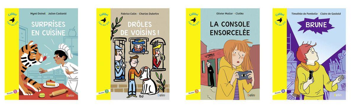 livres pour les enfants Dys