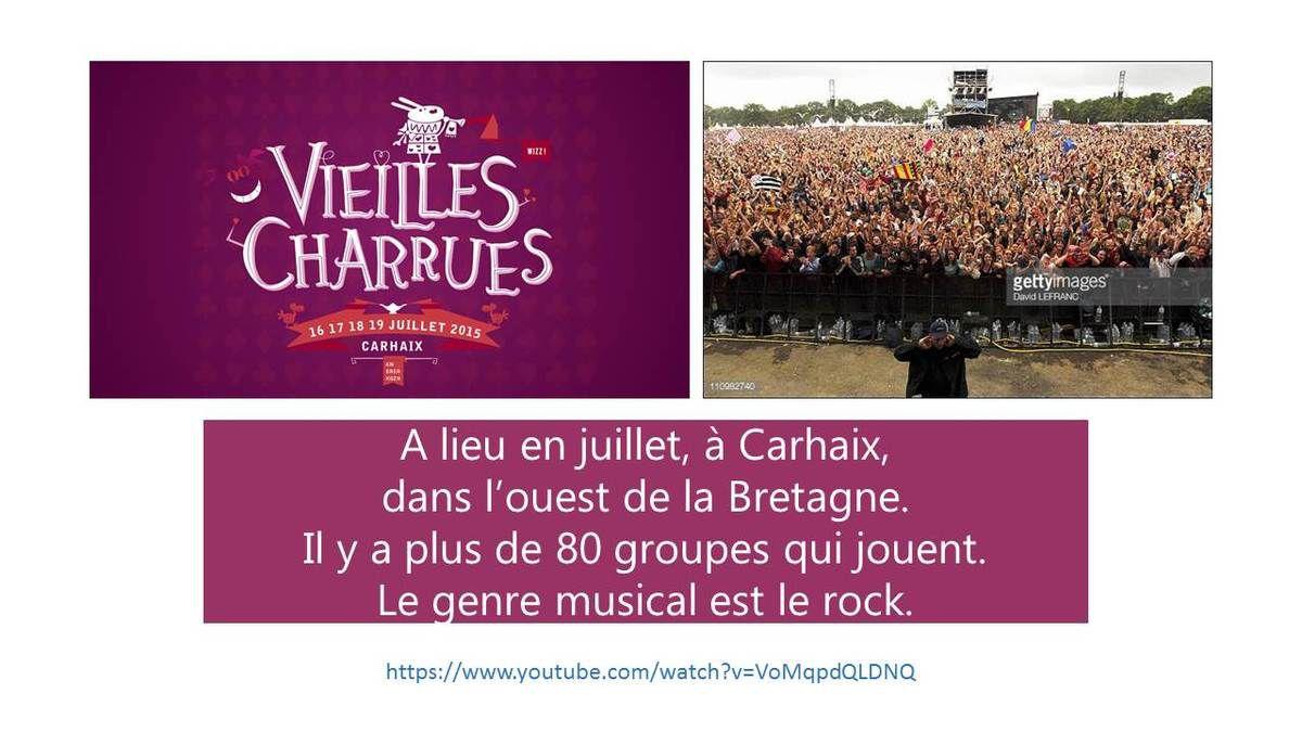 La Bretagne par les Ados4 de l'intensif de juin-juillet - Musique & festivals