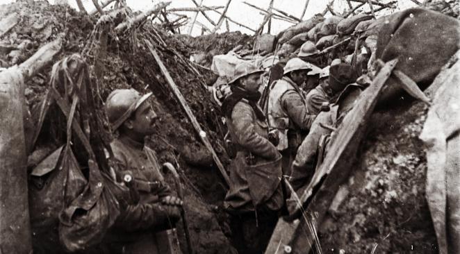 Photo des soldats dans un combat