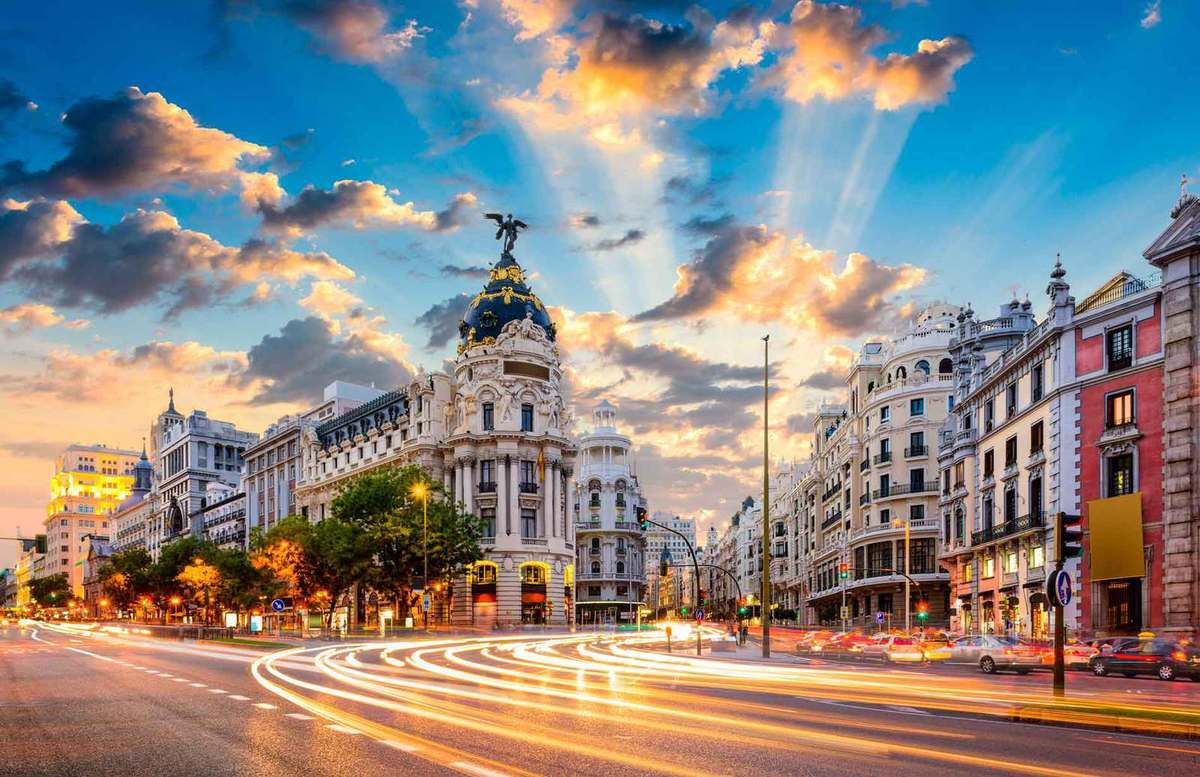 Une journée à Madrid