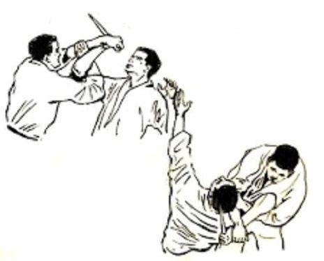 Stage de Jujitsu.