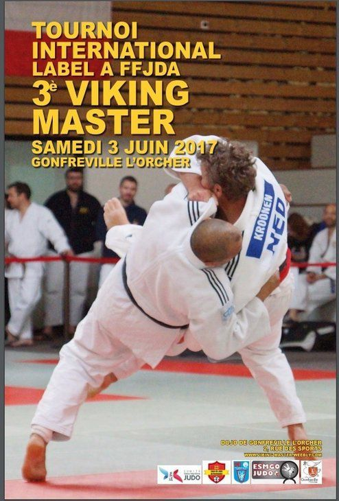 3ème VIKING MASTER - Tournoi International (Label A)