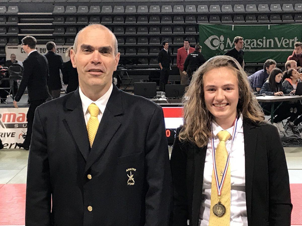 Eve Beuchard, Margot Rocuet et Ian Pennors champions du Finistère minime