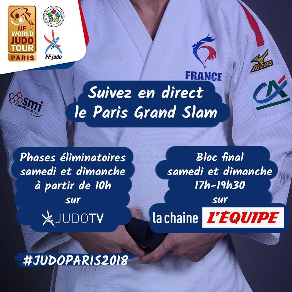 Grand Slam Paris judo, troisième participation d'un ex-kumosien en trois ans
