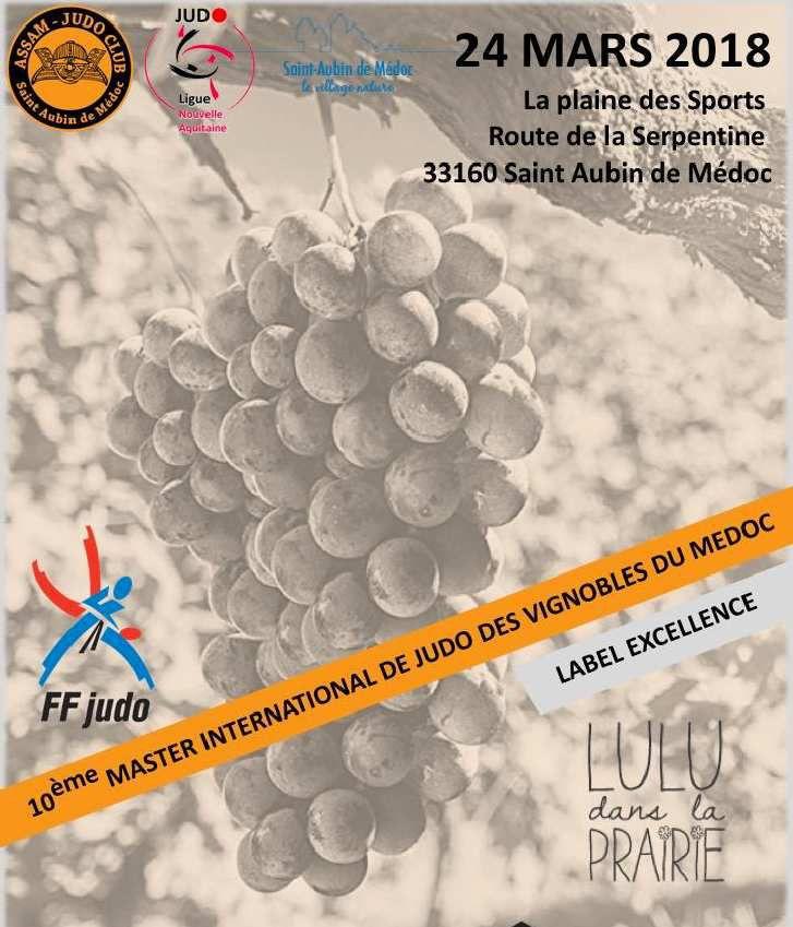 10ème Master Judo des Vignobles du Médoc (Label Excellence)
