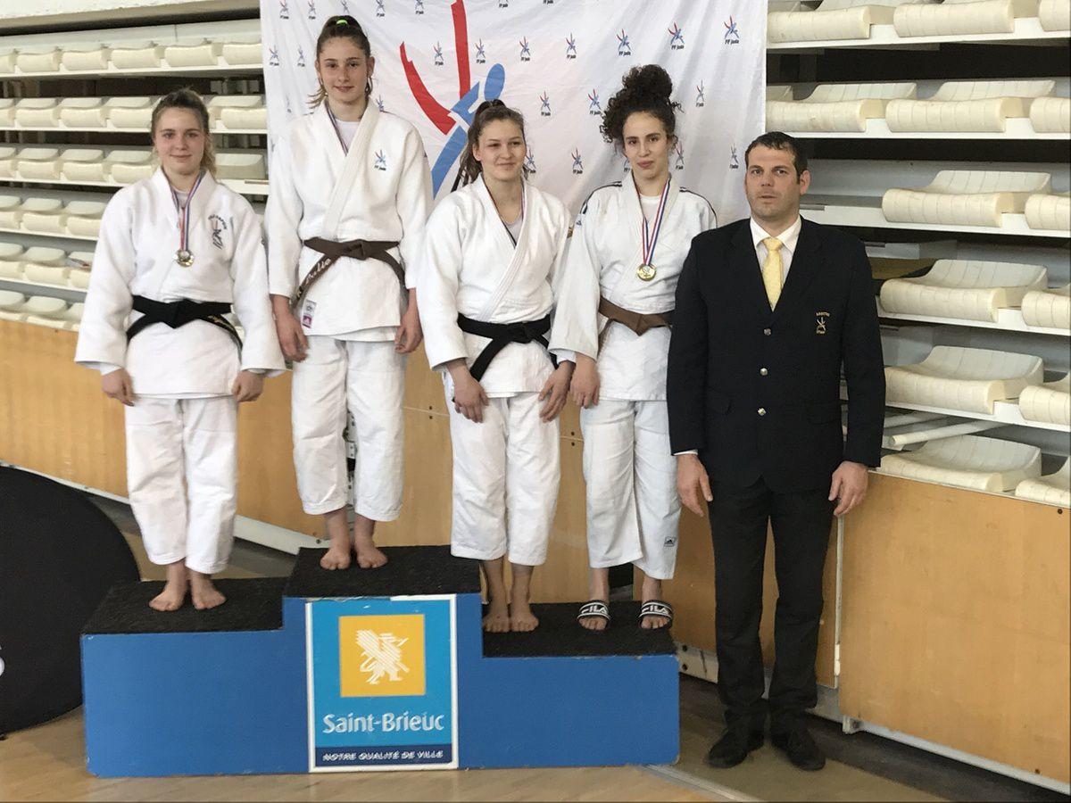 Trois qualifiées au championnat de France cadet et deux vainqueurs au Tournoi régional minime