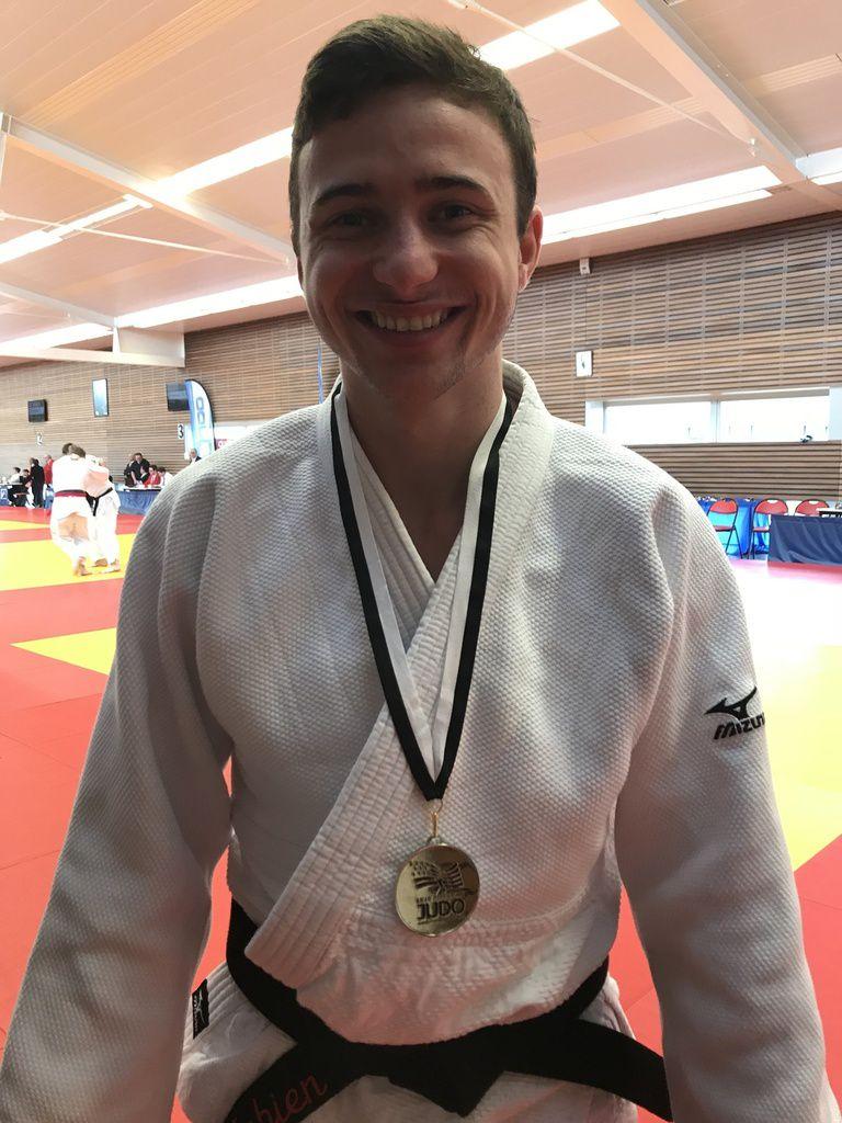 Fabien Guénan, vice-champion de Bretagne senior 1ère division