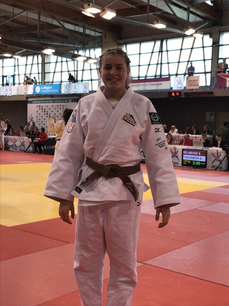 Eve Beuchard 11ème des championnats de France cadet
