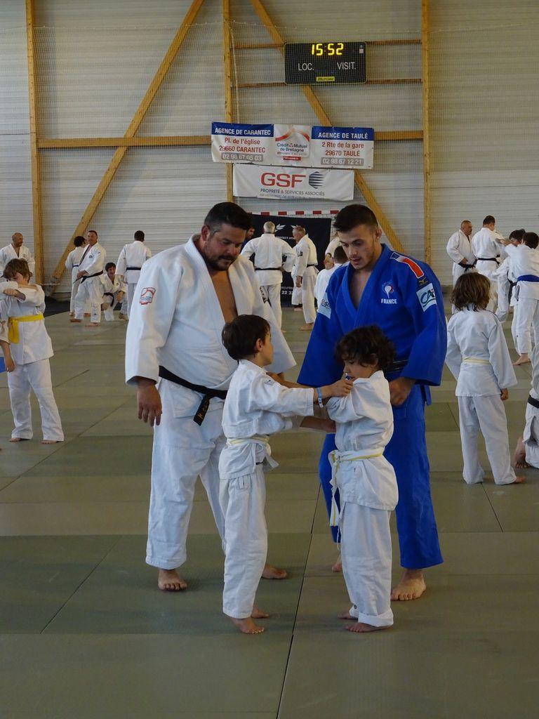 Clôture de saison, une belle journée de judo