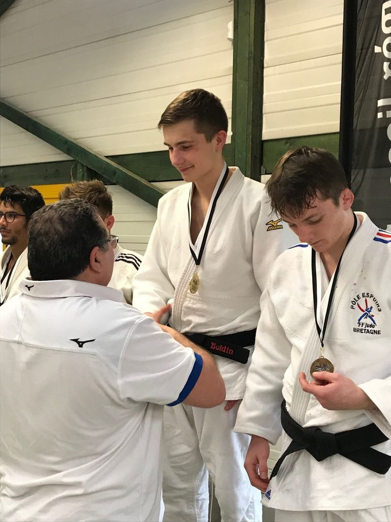 David Boidin champion de Bretagne Junior
