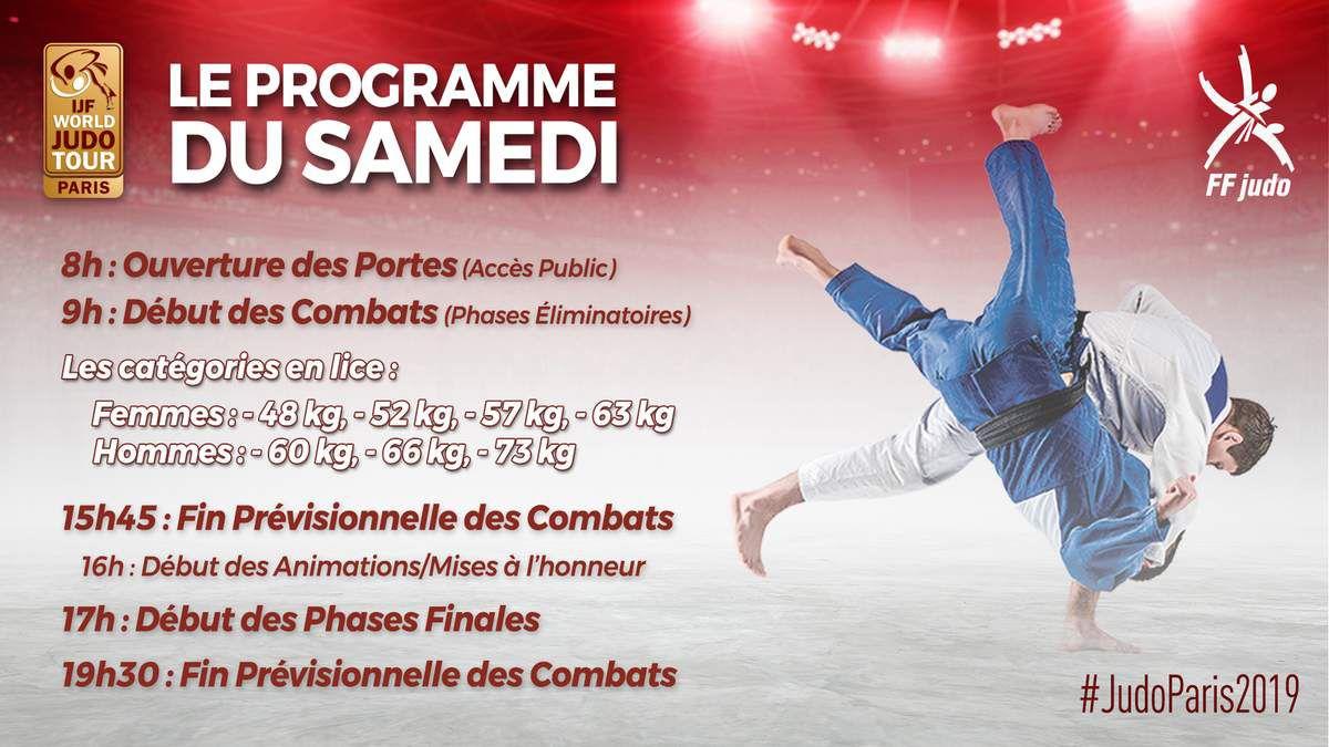 Grand Slam Paris Judo : comment suivre le parcours de nos champions et toute la compétition