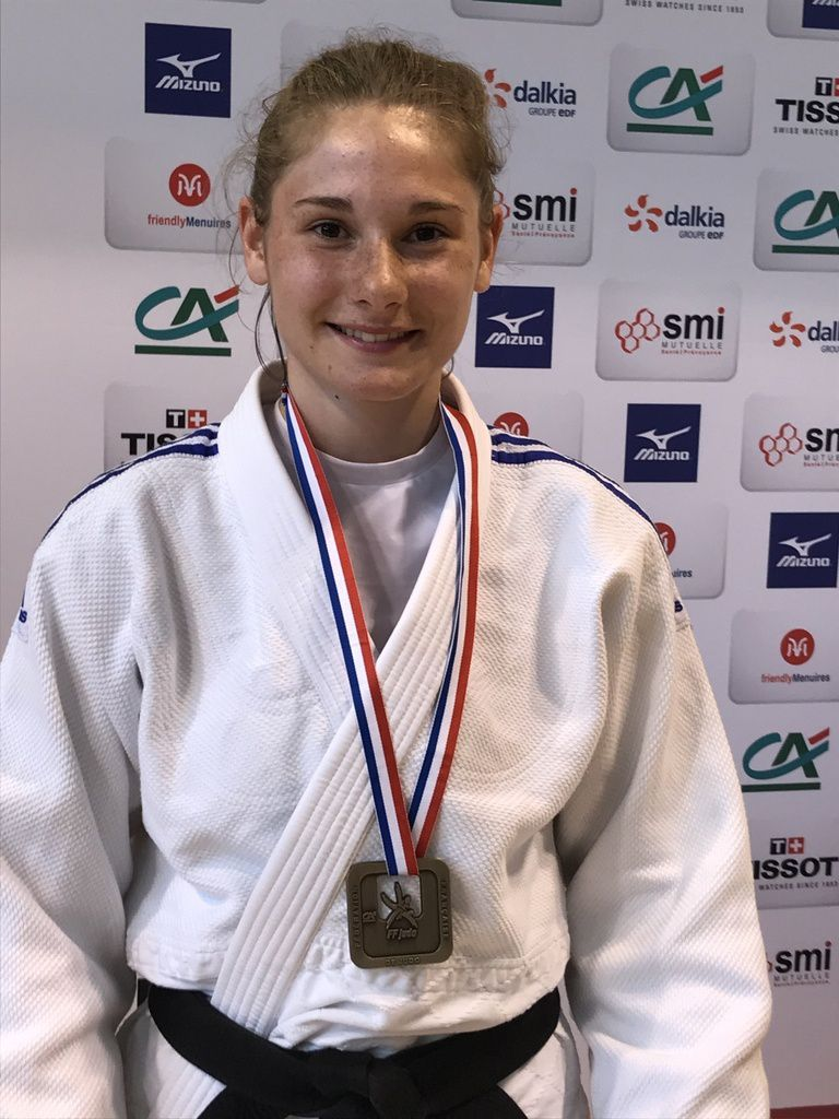 Lalie Bizouarn médaillée de Bronze aux championnats de France cadets