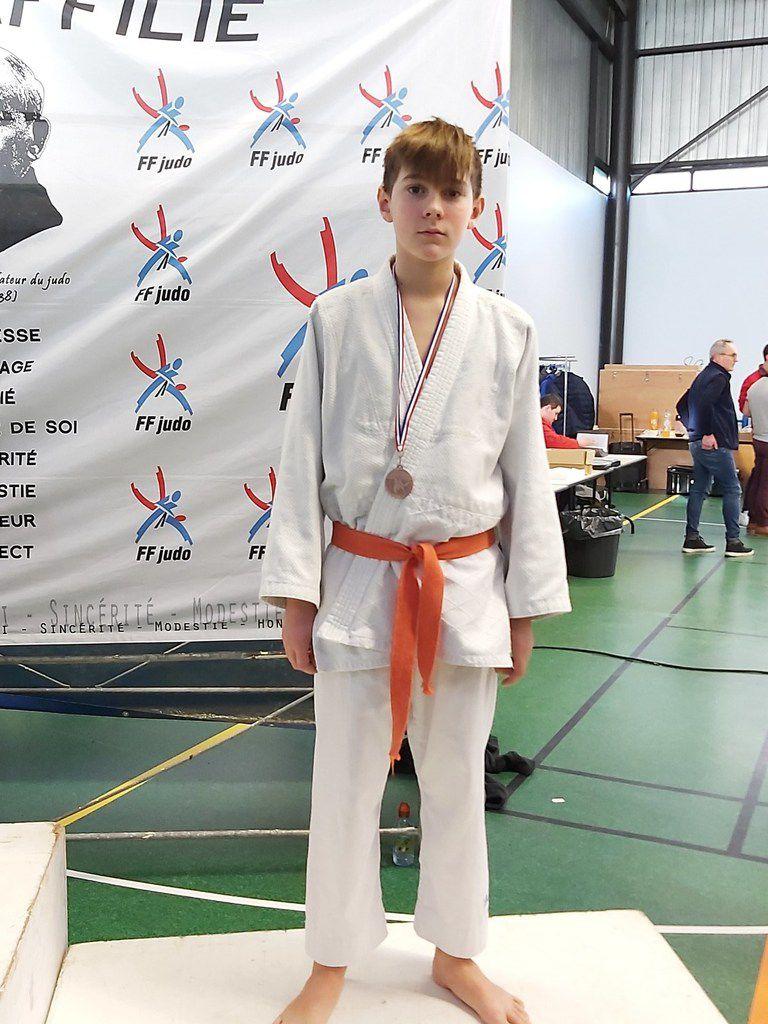 57 participants au 1er tournoi départemental benjamin minime