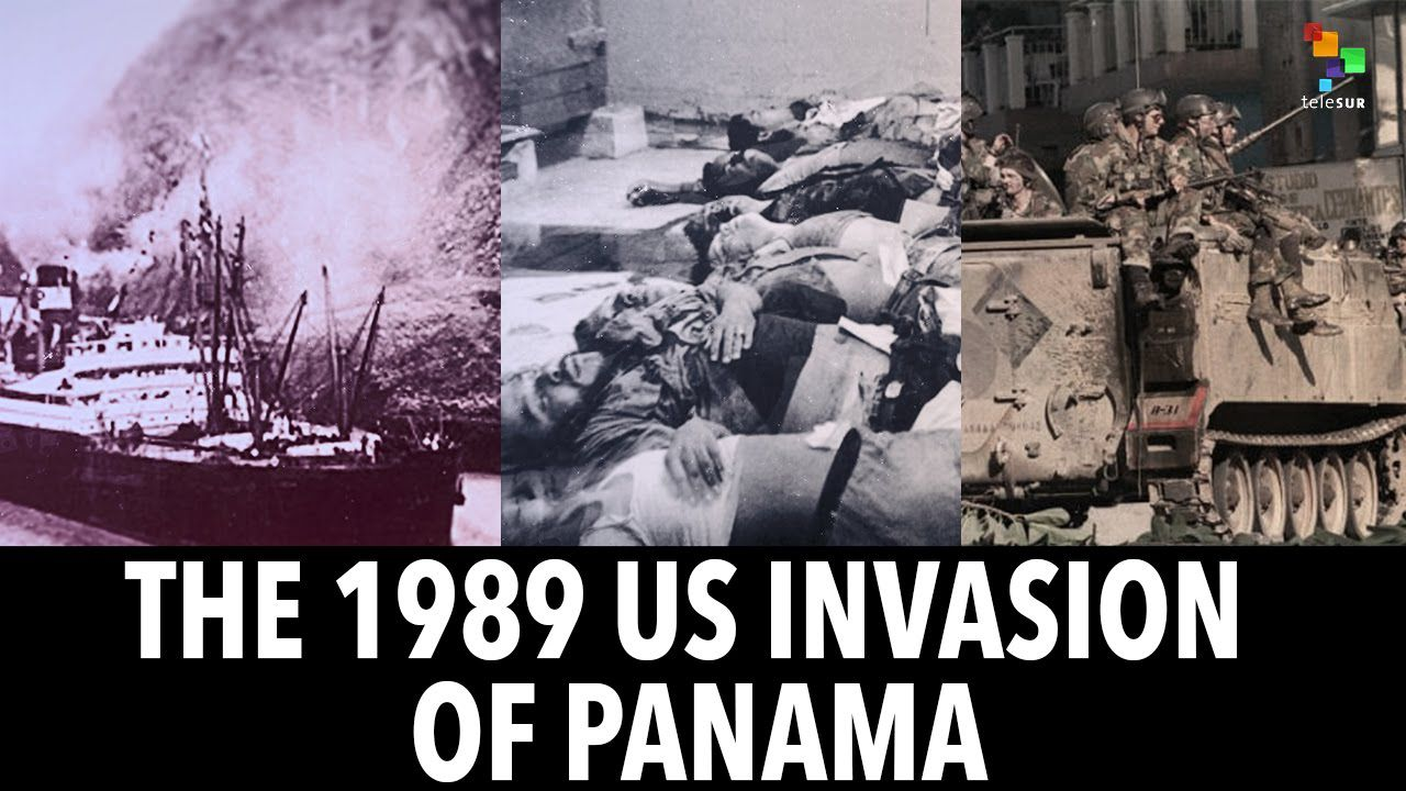 1989: Tian'anmen, Timisoara VS plusieurs milliers de tués au Panama?