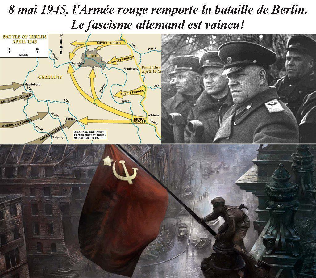 Encerclement de la capitale du Reich par les troupes de l'Armée rouge