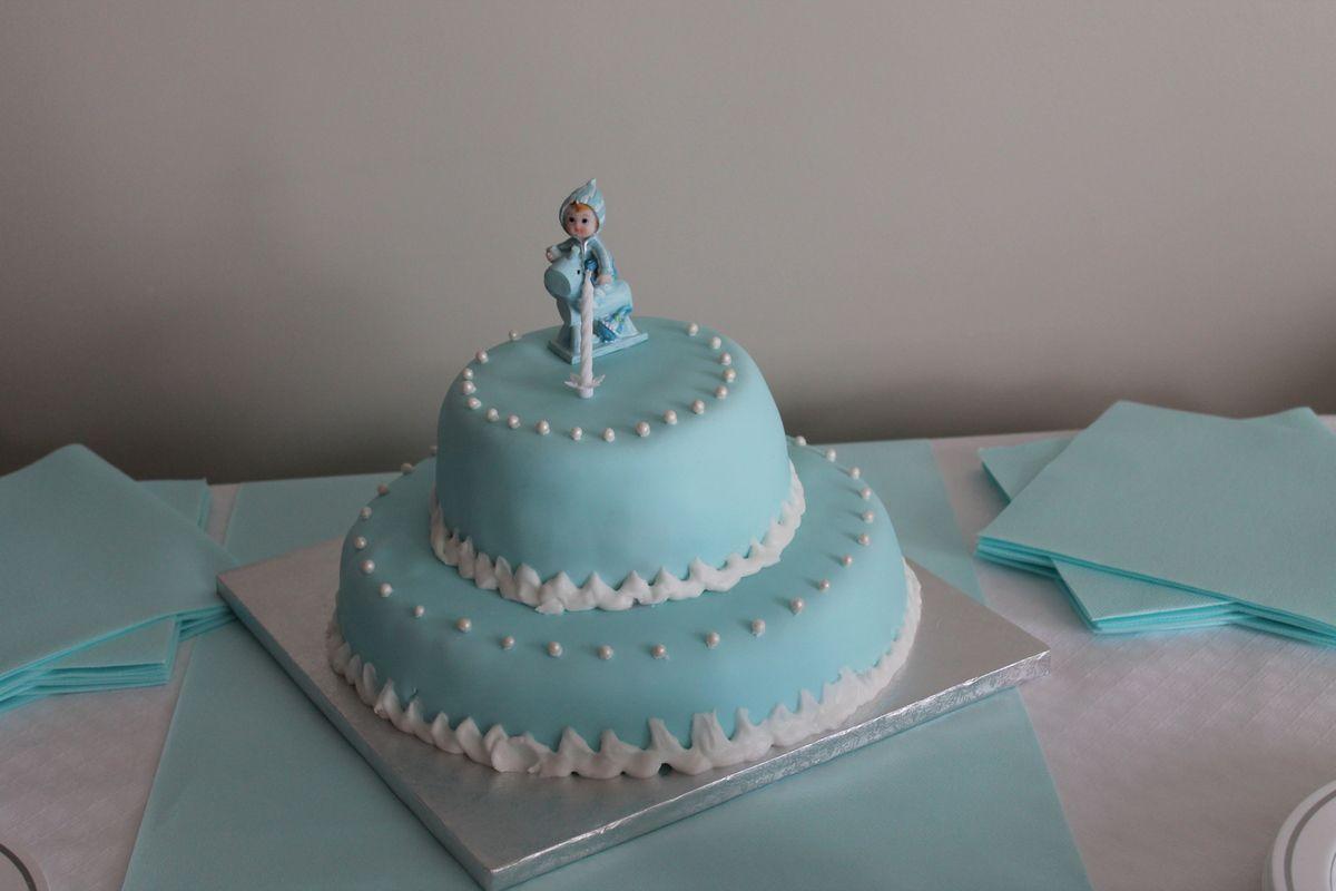 Idéal pour un anniversaire de bébé ou un baptême!