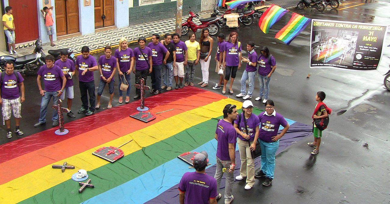 """Événement d'Iquitos intitulé """"Loretanos contre l'homophobie"""""""