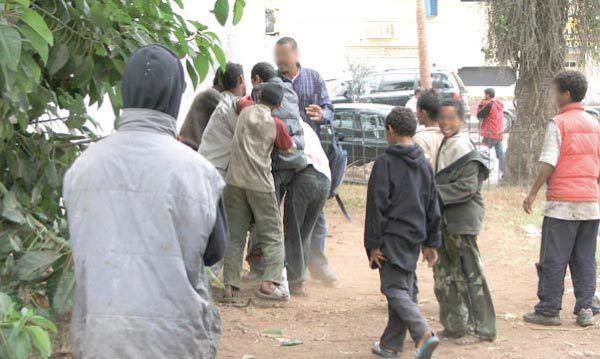 Les enfants en situation de rue