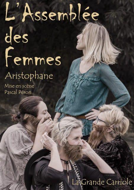 Assemblée Femmes Aristophane comédie théâtre Grèce antique Landerneau Irvillac
