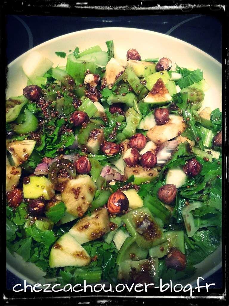 Salade de céleri pommes noisettes