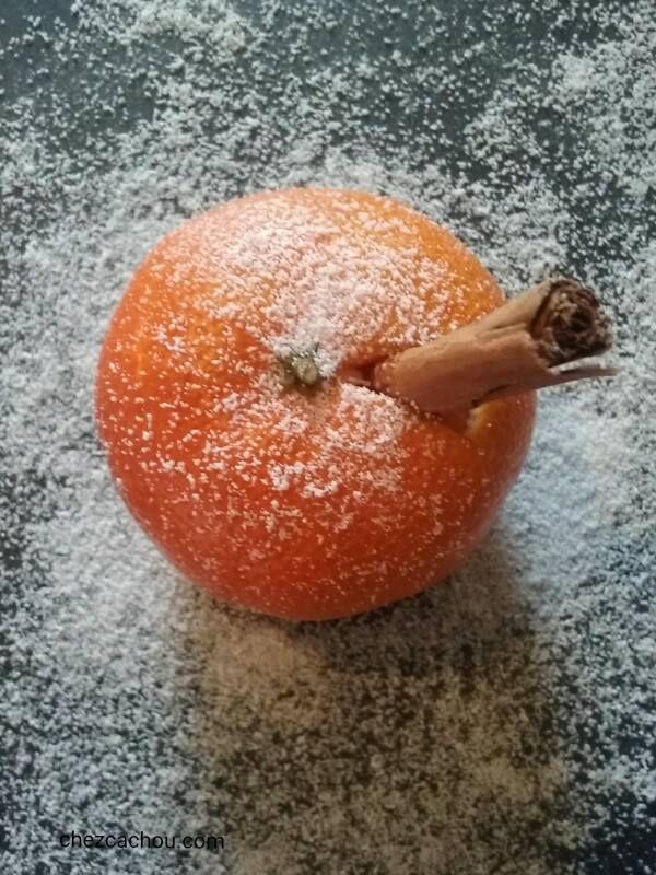 Mandarines à la cannelle, au chocolat ou au caramel