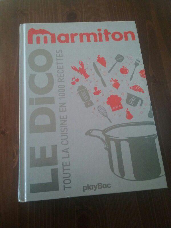 Chezcachou passionn e de cuisine je partage avec vous - Livre cuisine marmiton ...