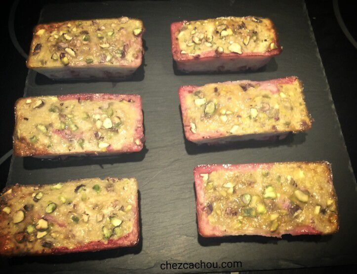 Financiers finition pistache (avec ou sans Companion, Thermomix, ....)