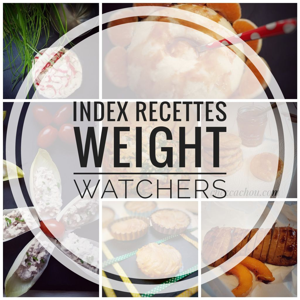 Index recettes Weight Watchers