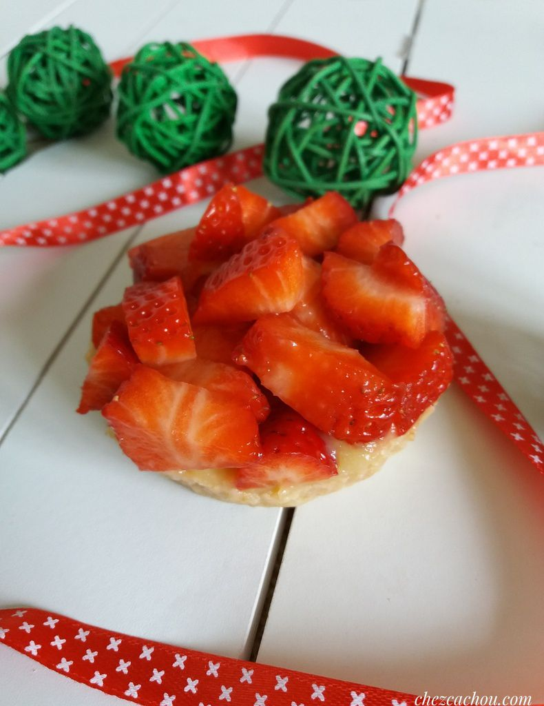 Tartelettes aux fraises version light